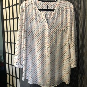 NYDJ 3/4 sleeves Blouse